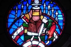 Stained glass, Ancient Spanish Monastery, Florida