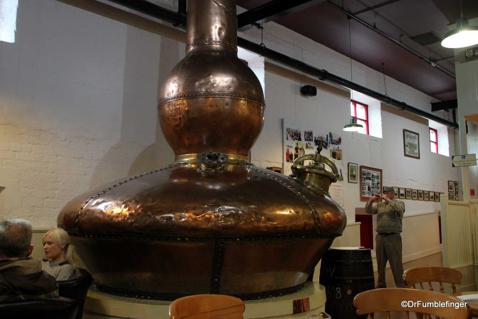 Bushmills Distillery, old still