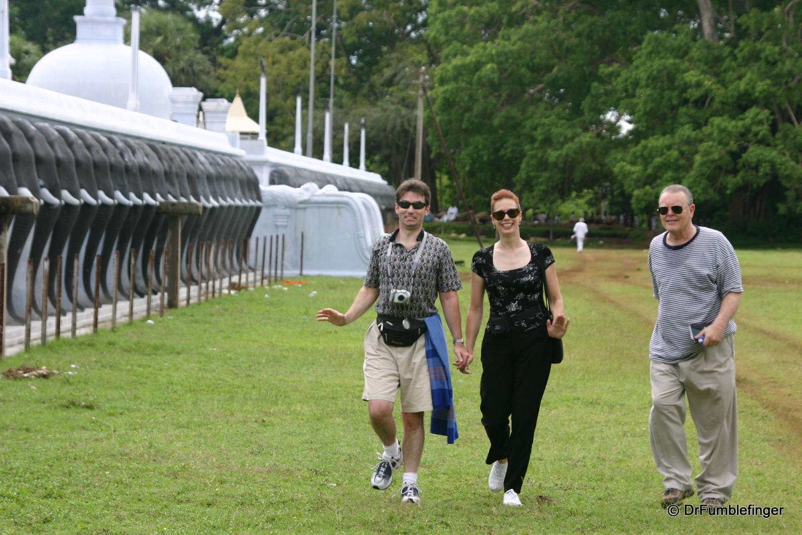 Friends Lester (L), Pam & Neil (R)