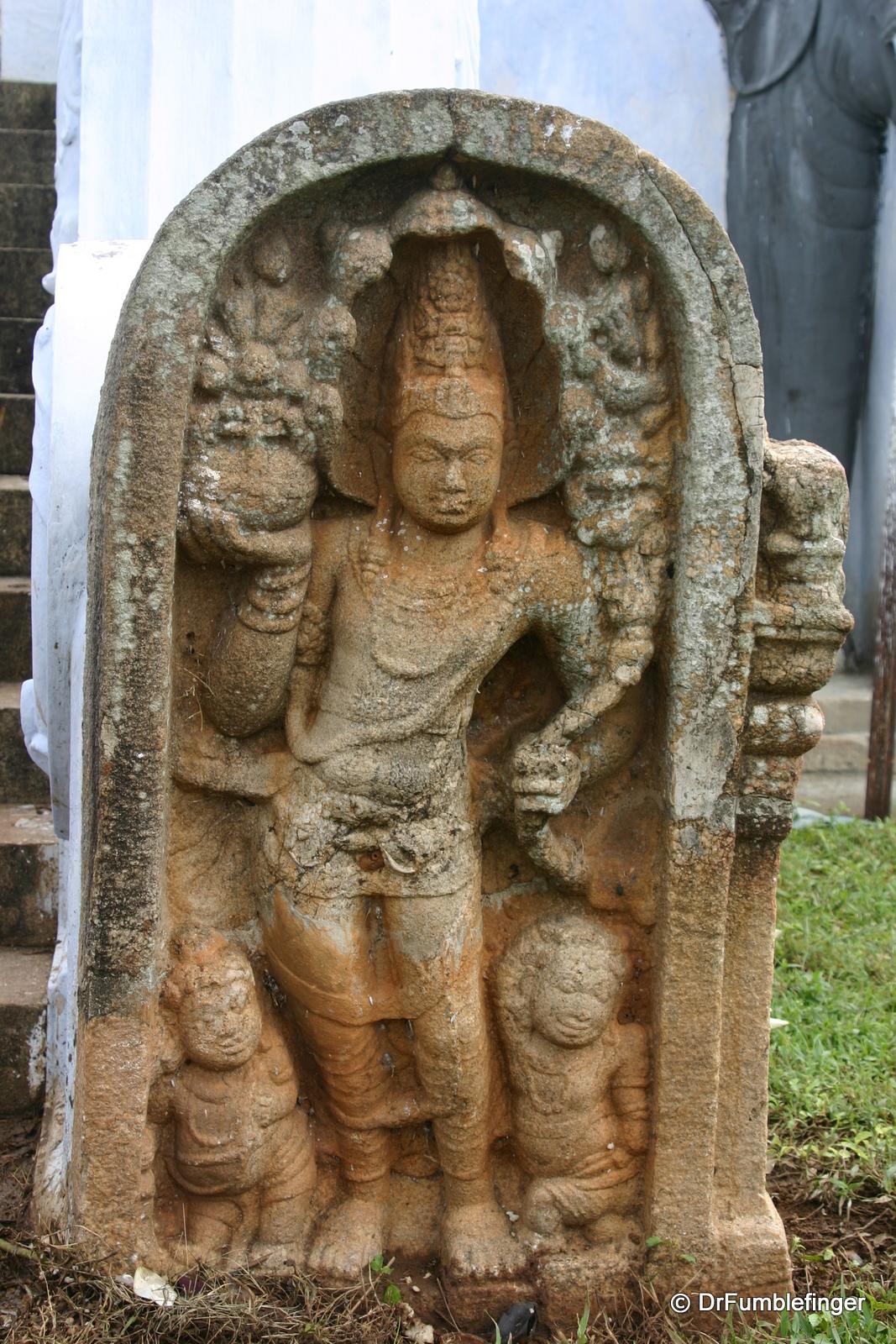 Anuradhapura -- Mura Gala (Guard Stone)