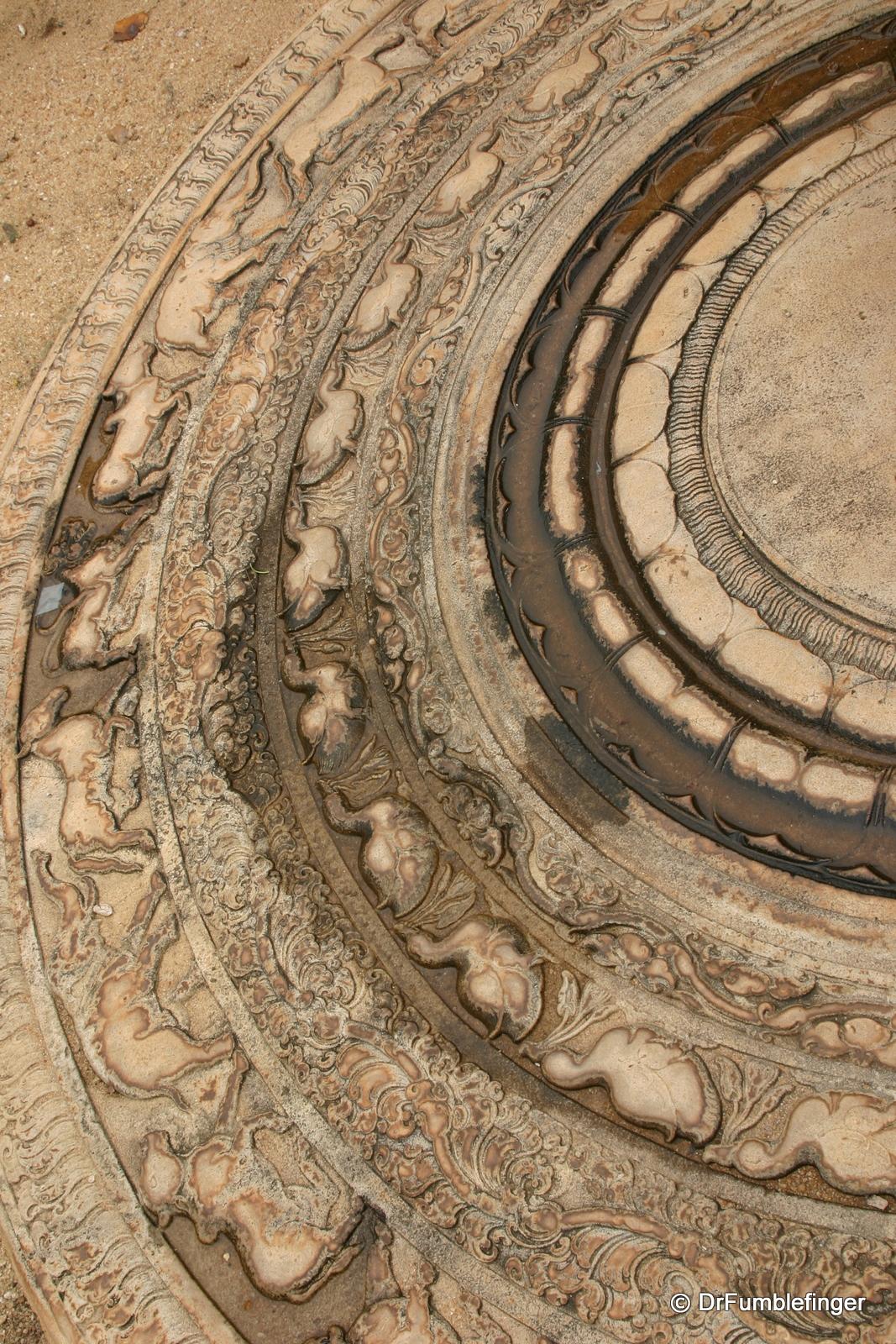 Anuradhapura -- Moon stone