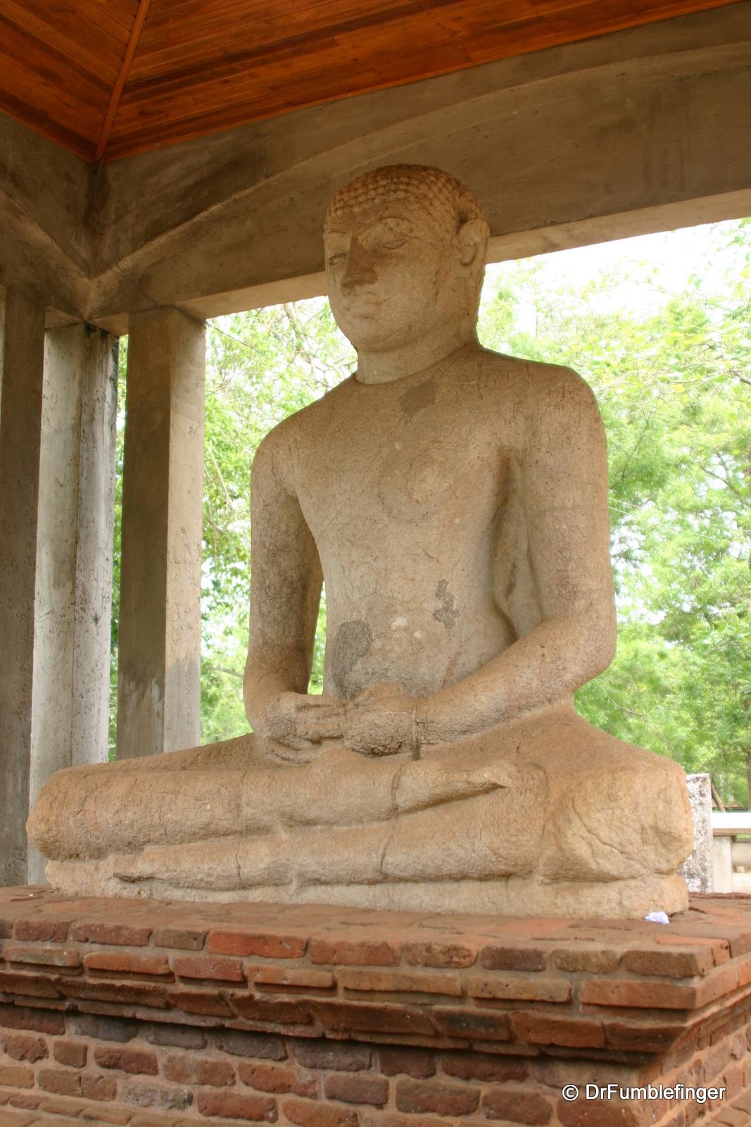 Anuradhapura -- Samadhi Buddah