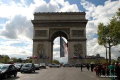 Arc de Triomphe viewed from the Champs-Élysées