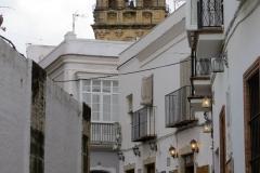 Walking the narrow lanes of Arcos de la Frontera, Spain