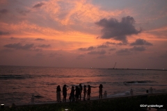 Sunset, Galle Face Hotel