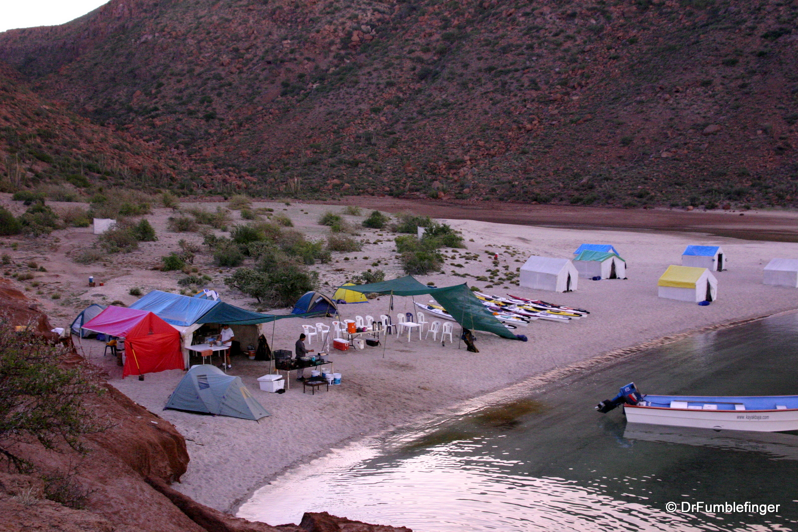 Our Camp, Isla Espiritu Santo