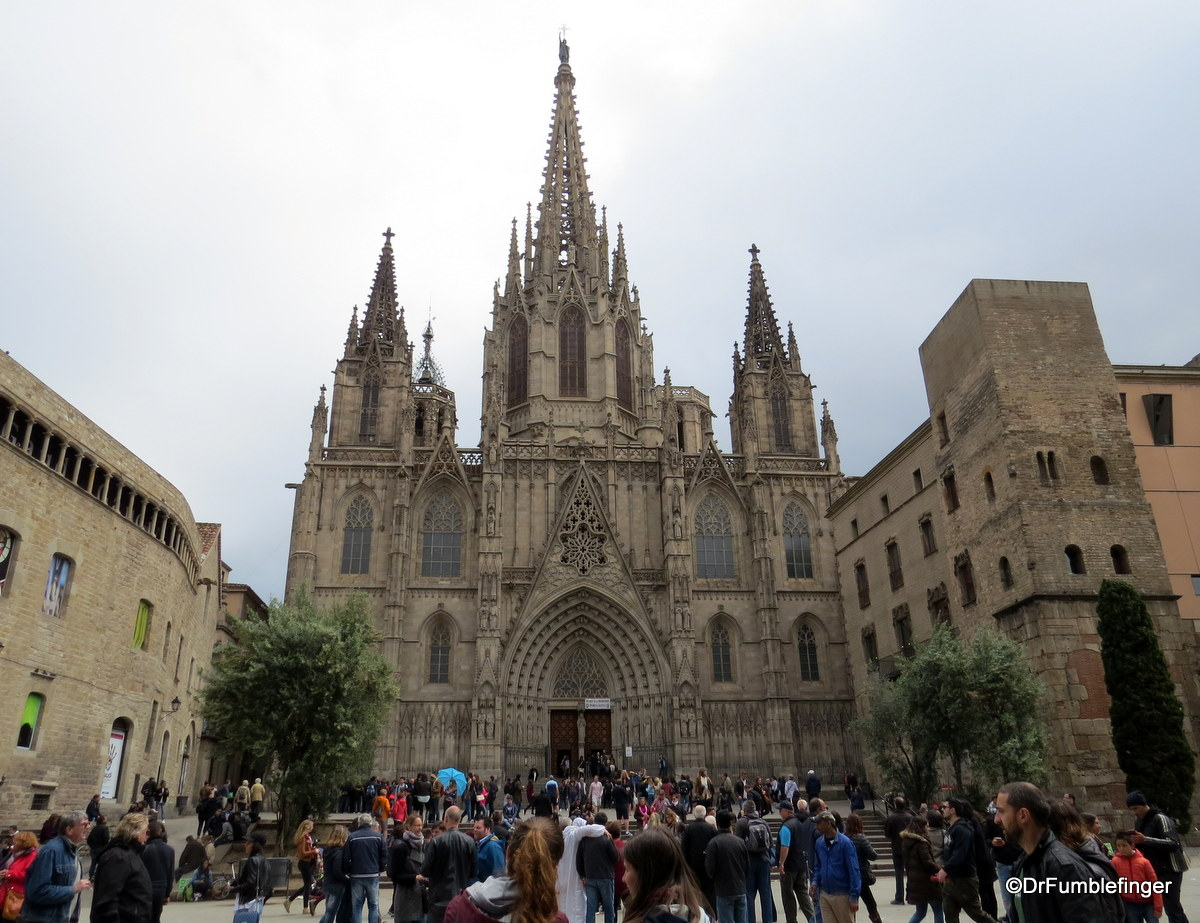 Exterior, Barcelona Cathedral