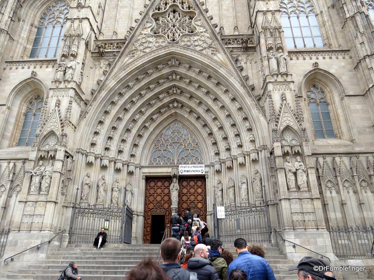 Main Entrance, Barcelona Cathedral