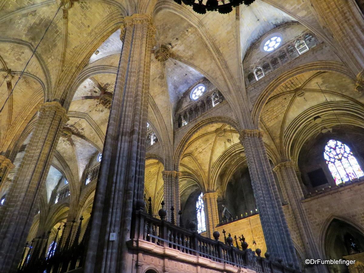 Interior, Barcelona Cathedral