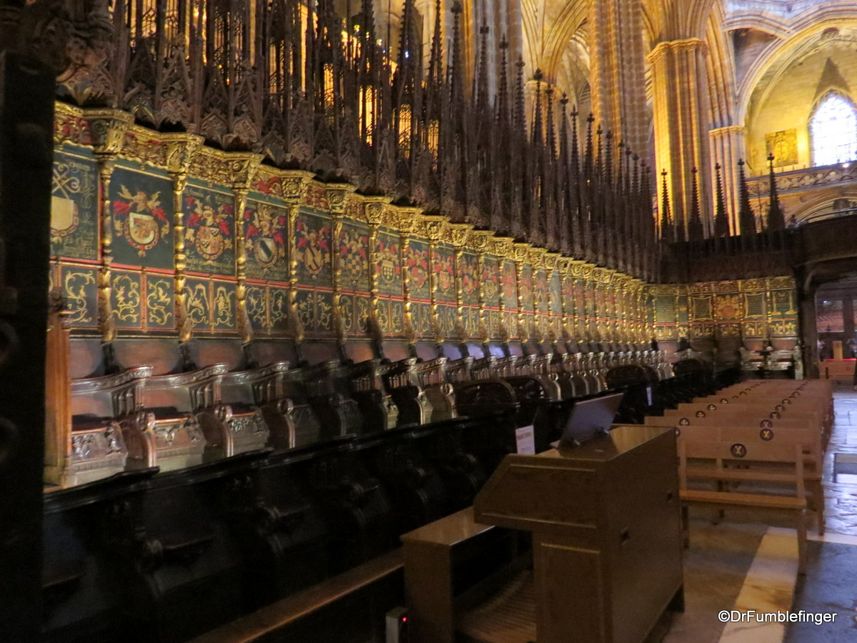 The Choir, Barcelona Cathedral