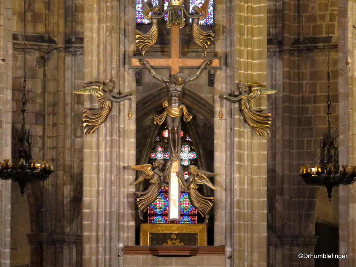 Main Altar, Barcelona Cathedral
