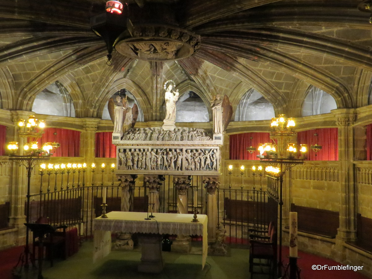 St Eulalia's crypt, Barcelona Cathedral