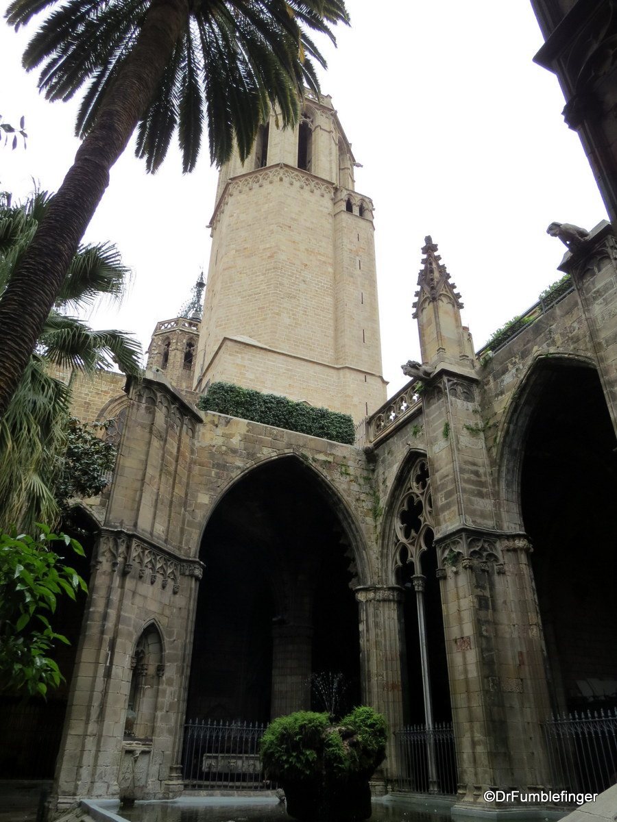 Cloister, Barcelona Cathedral