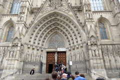 Main Entrance, Barcelona Cathedral
