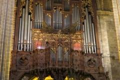 Organ, Barcelona Cathedral