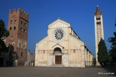 Exterior, Church of San Zeno, Verona