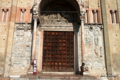 Entrance to the Church of San Zeno, Verona