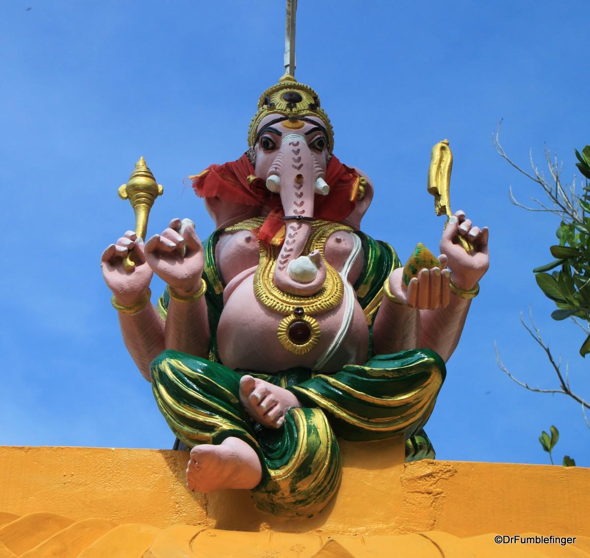 Hindu Temple inside the Batticaloa Fort