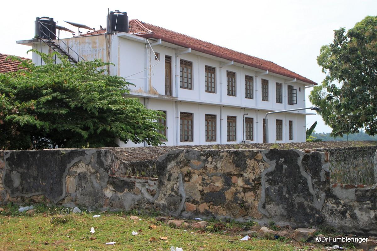 Government buildings inside the Batticaloa Fort
