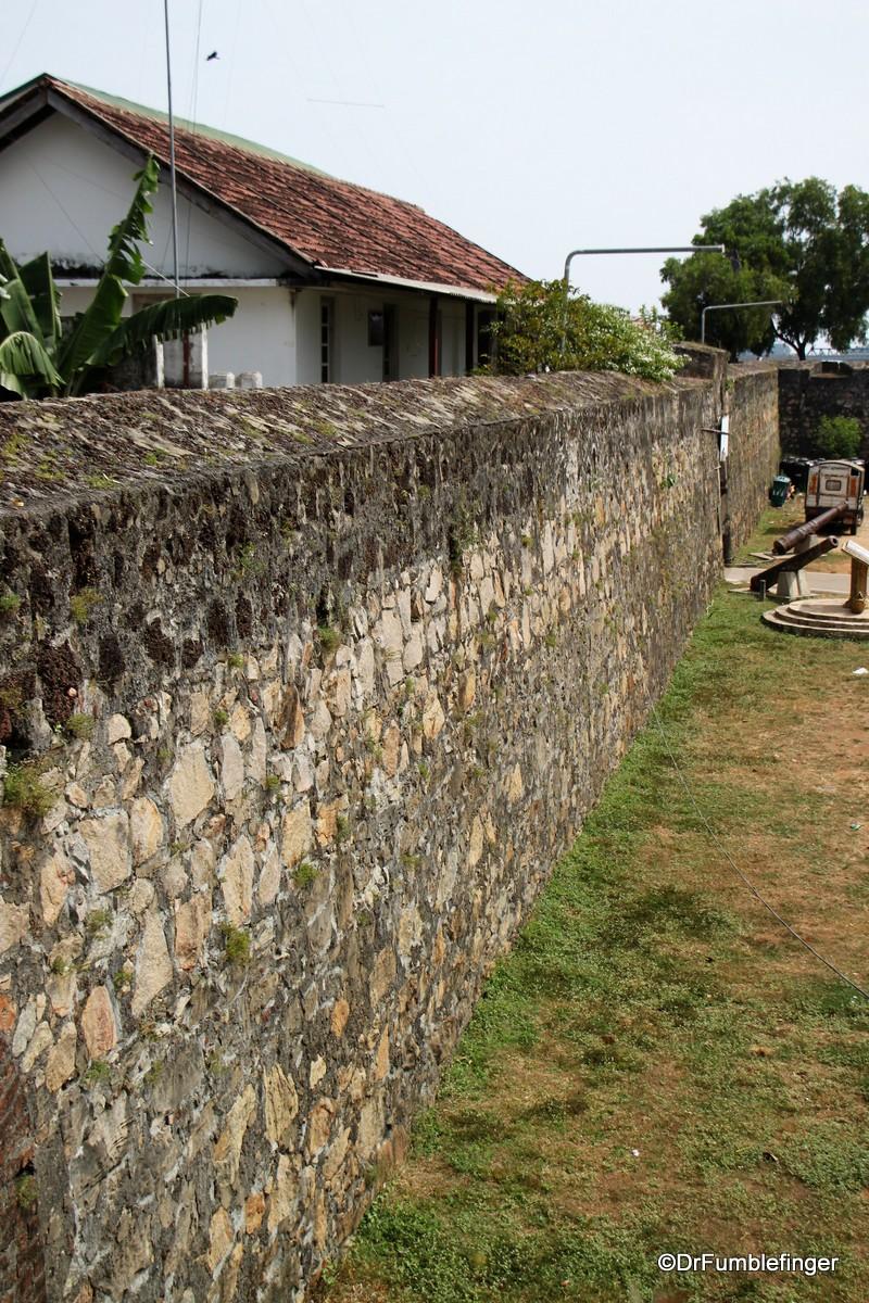 Walls of the Batticaloa Fort