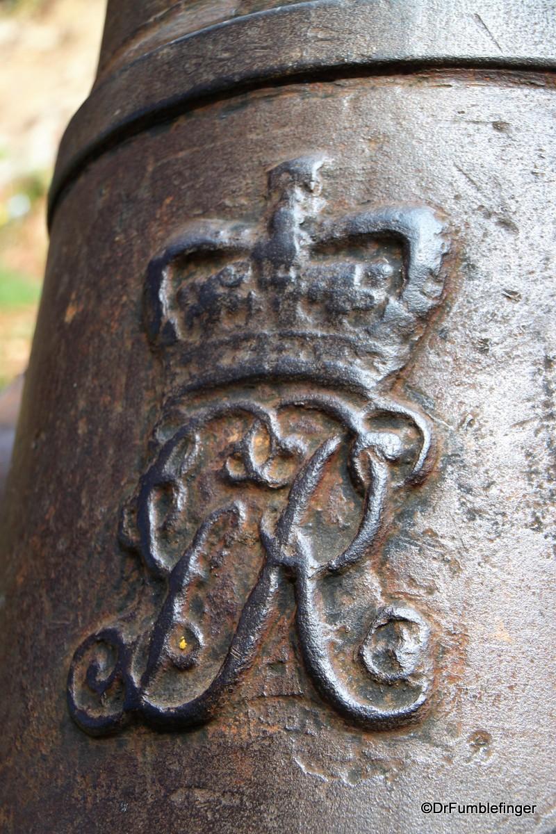 English era cannon, Batticaloa Fort