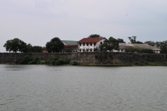View of Batticaloa Fort across the Lagoon