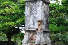 Ruins of a chimney, Batticaloa Fort
