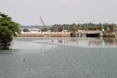 Lagoon views from Batticaloa Fort