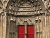 Entrance, Cathedral Notre Dame Bayeux