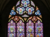 Stained glass window, Bayeux Cathedral