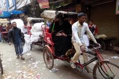 Bicycle Rickshaw Ride, Old Delhi