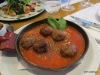 Cafe San Juan. Meatballs and tomato sauce