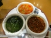 Condiments for grilled chorizo