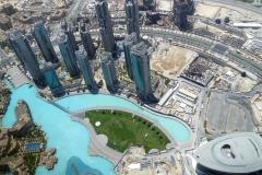 Views from the Burj Khalif