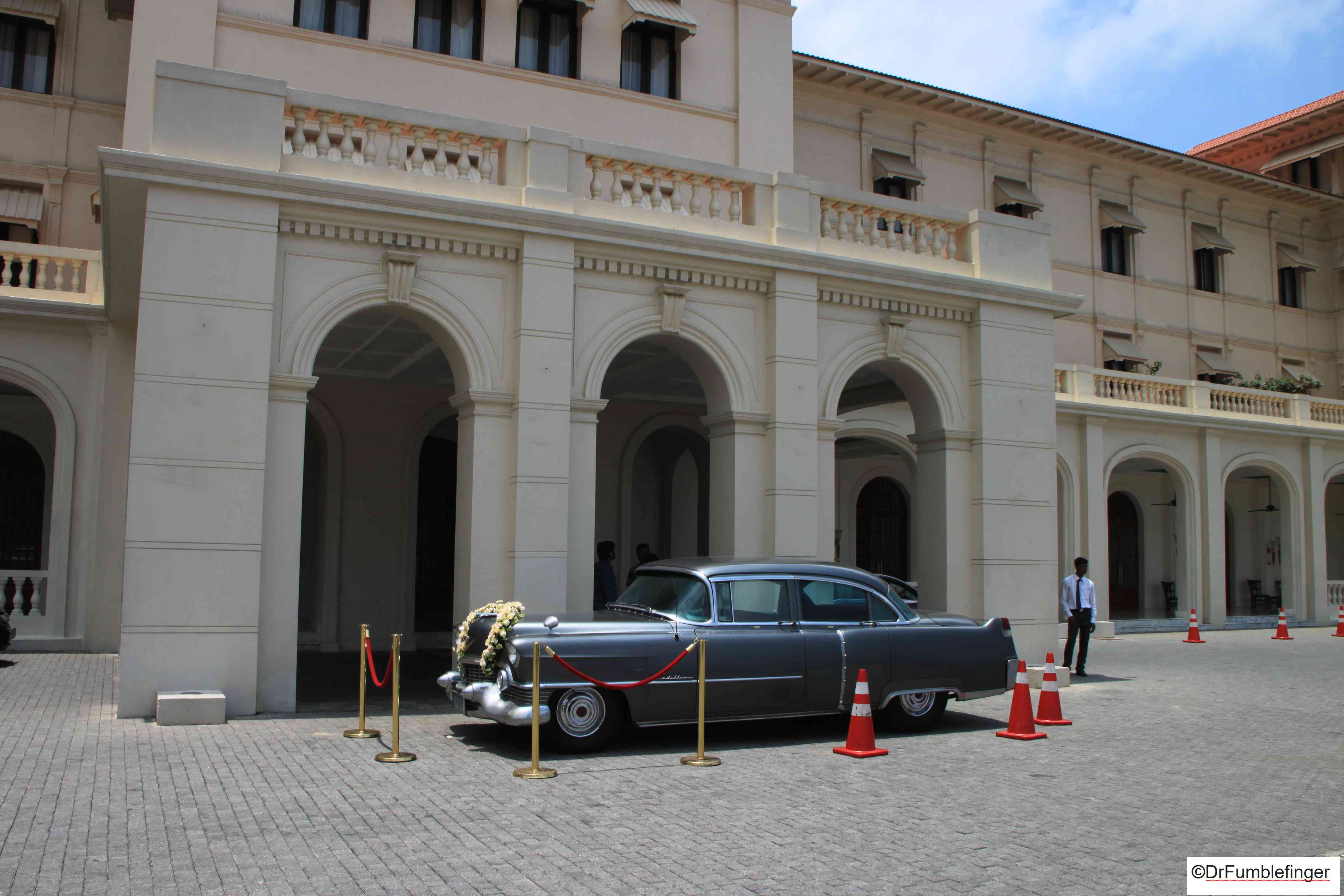 Classic Cadillac, Galle Face Hotel, Colombo