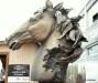 Draft Horse bust.