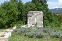 Ruins at Camp Hale