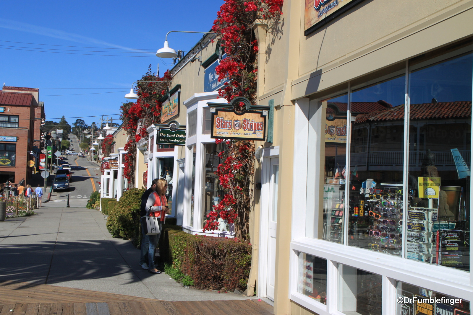 Shops adjoining Steinbeck plaza, Cannery Row