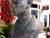 Steinbeck bust, Steinbeck plaza, Cannery Row