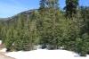 Snow near the summit