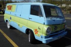 Scooby-Doo van, Celebrity Car Museum, Branson