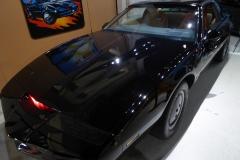 Kitt car from Nightrider, Celebrity Car Museum, Branson