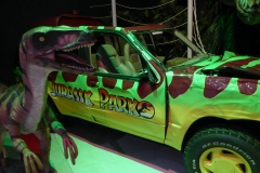 Jurassic Park Ford Explorer, with a dinosaurs thrown in for fun.