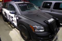 2007 Dodge Caliber modified and used in Robocop