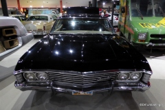 Fans of the TV series Supernatural will recognize this 1967 Chevrolet Impala as belonging to Dean.