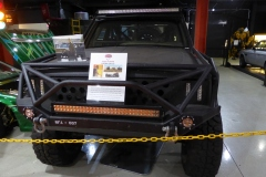 These modified SUVs were used in the recent hit film, Logan.
