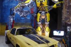 Transformers:  yellow 1976 Chevrolet Camaro (Bumble Bee)