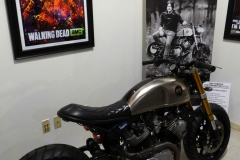 Daryl's motorcycle, a customized Yamaha XV920, from the Walking Dead