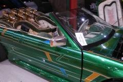 Customized Honda Prelude lowrider, once the ride for boxing champ Oscar de la Hoya.