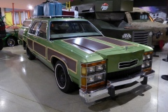From National Lampoon's Vacation a customized 1984 Ford Crown Victoria Wagon.